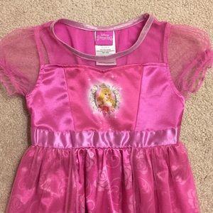 Disney Princess night gown size 4T